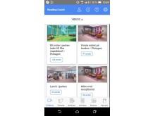 Läscoach appen hemsida Skärmbild