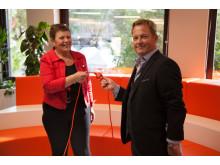 Bixias nya försäljningscenter bidrar till Nässjös tillväxt