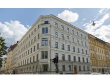 En av Virtuosens fastigheter på Sturegatan 48-50
