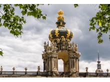 Zwinger i Dresden, Tyskland, Kronentor