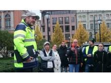 Trafikklærerdemonstrasjon Tore Johannessen Foto Terje Moengen