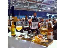Öl- och vinbricka i festivalbaren