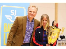 Lina Moberg - årets MVP