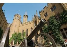Hohenzollern borg ved Bisingen-Zimmern (Tyskland)