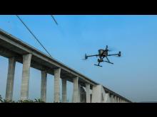 DJI M300 RTK Bridge Inspection Work
