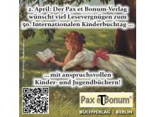 Pax et Bonum Kinderbuchtag 2017