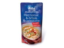 Abba Middagsklart Mild tomat- och örtsås för ugnsbakad lax
