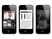 Icon iPhoneapp innehåll