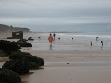 Moray Burghead beach
