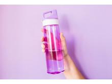 Fyll din flaska med kranvatten.