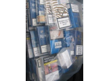 Op Brut cigarettes seized by HMRC in Merseyside 3