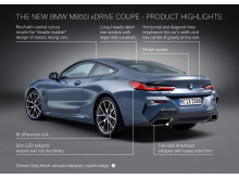 BMW 8-serie Coupe - Highlights