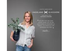 Cathrine Knudsen og Hadeland Glassverk