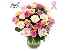 Rosor i kampen mot bröstcancer