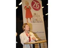Kulturminister Lena Adelsohn Liljeroth inviger Eget Företag 2010