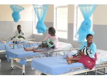 Unge mødre på BILKA-klinik