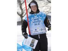 Gymnasieelever utbildas till ledare på snö
