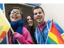 Festivalen Queer up - Kungsbackas festival för mänskliga rättigheter