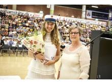 Julie Ringsted Nørrelund fik Martin Pedersens mindelegat til at rejse ud i et PIU forløb (Praktik i udlandet)