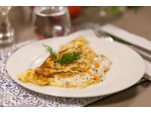 Omelett med stuvning