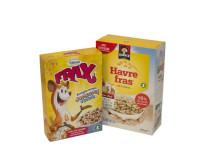 Frax jordgubb/blåbär och Havrefras - bäst i KfS granskning av livsmedel till barn 2014.