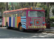 Buss i virkade mormorsrutor