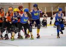 Stockholm BSTRDs vs Vienna Rollergirls