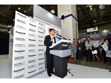 MCE2015_Mamoru Yoshida, President of Panasonic Air-Conditioner Company Japan