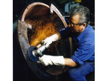 Norton Quantum F996 fiberrondell för påfrestande slipning - Användning