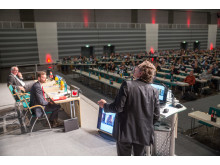 Kongressgeschehen - Frankenhalle: Prof. Reinhard Ries