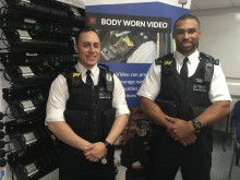 Launch of body worn cameras - Haringey