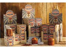 Italiensk surdegspanettone i små söta miniförpackningar