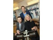 Anders Lindgren, styrelseordförande och medgrundare Itrim, Martin Anderlind VD och medgrundare Itrim och Jill Kinney, amerikansk entreprenör som tar Itrim till USA.