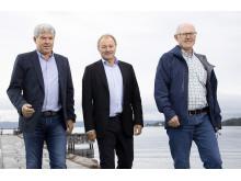 Jan Henning Quist, Bård Hernes, Jon Aas