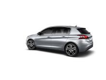 Nya Peugeot 308 - elegant siluett