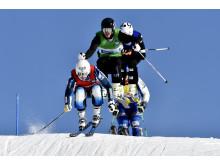 Skicross Idre Fjäll
