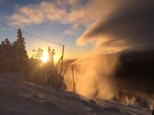 Snöproduktion Åre
