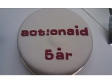 ActionAid i Sverige fyller 5 år