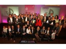 All winners ICSC Solal Marketing Award 2013