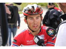 Sondre Holst Enger under Tour of Norway 2016