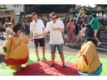 Takeda Azubis beim Stadtfest Singen 2017 / Sumoringen