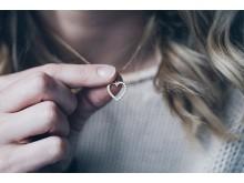 Hjerte til en du er glad i