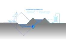 Pumped Hydro Storage Illustration