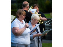 Peace and Prayer Vigil Service in Rochdale Memorial Gardens