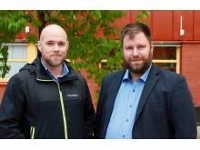 Thomas Ejdemo och Daniel Örtqvist