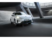 Kia Niro EV front dynamic