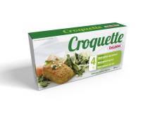 Croquette med spinat og friskost
