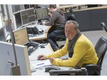 Foto: Der Rekord der Einspeiseleistung von Photovoltaik-Anlagen am vergangenen Sonntag war für die Bayernwerk-Mitarbeiter in den Netzleitstellen eine besondere Herausforderung.