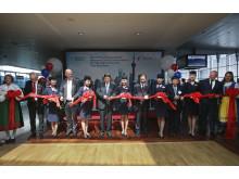 Bandklippning på Arlanda för China Easterns nya linje till Shanghai