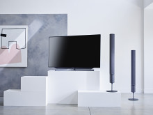 The Loewe klang 5 wireless speaker system